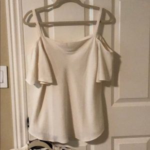 Ann Taylor off the shoulder blouse.